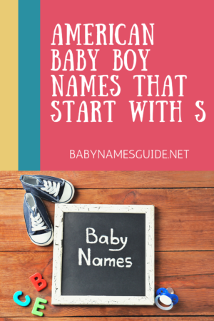 American Baby Boy Names That Start With S