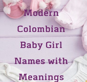Colombian Baby Girl Names